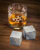 Large Soapstone whiskey stones, science gift for men