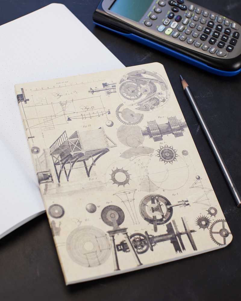 Engineering Softcover Notebook Front Cover
