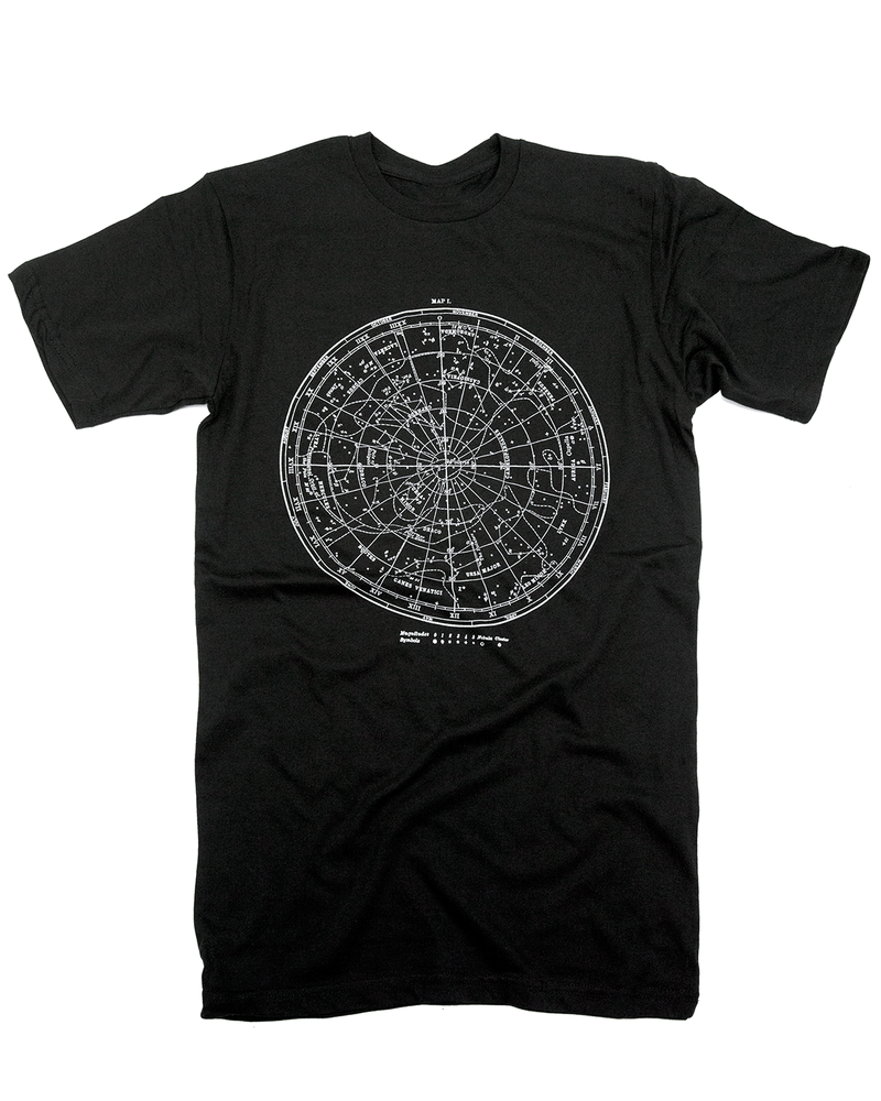 Star Chart Glow-in-the-Dark Tee Shirt - Cognitive Surplus - 3