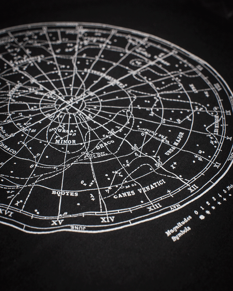 Star Chart Glow-in-the-Dark Tee Shirt - Cognitive Surplus - 2