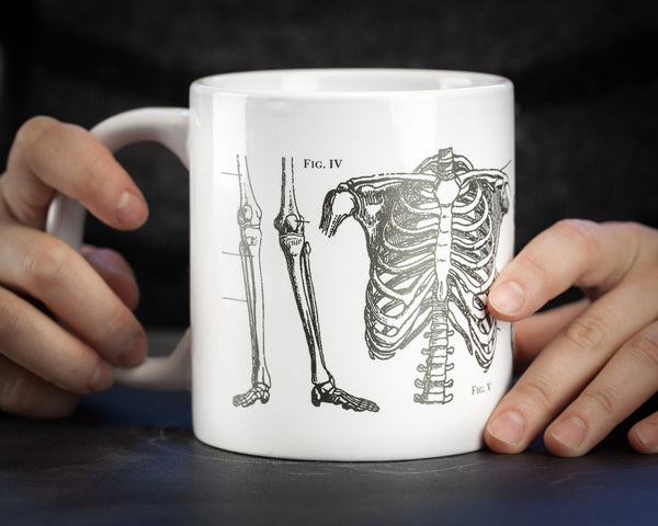 Skeleton 20oz Mega Mug