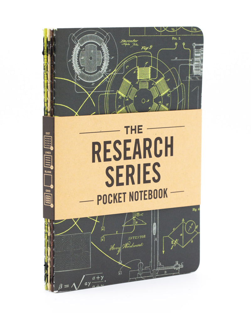 Engineering & Physics Pocket Notebooks 4-pack - Cognitive Surplus