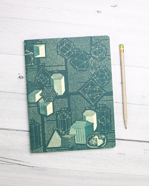 Crystallization Chemistry Softcover Notebook - Dot Grid