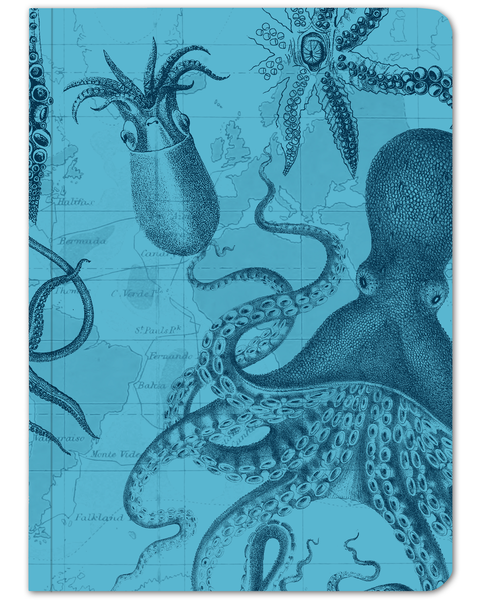 Cephalopod Softcover: Stickered