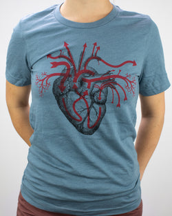 Heart Blood Flow Graphic Tee