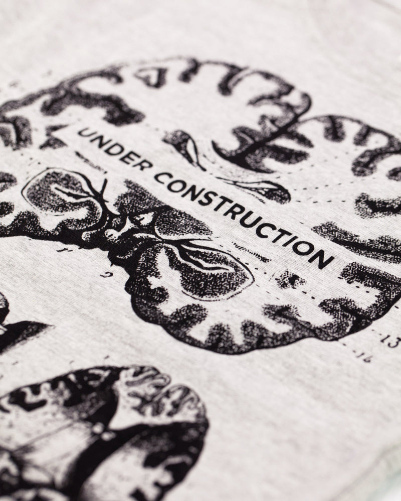 Brain: Under Construction Toddler Tee Shirt