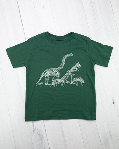 Dino Commute Toddler Tee Shirt