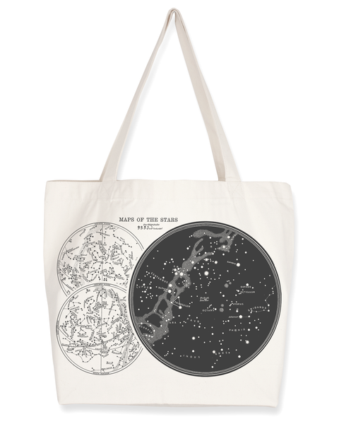 Star Chart Tote Bag