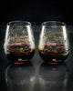 SECONDS Northern Hemisphere Night Sky Wine Glasses