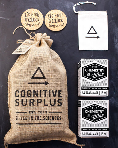 The Chemistry of Wine Gift Pack - Cognitive Surplus - 1