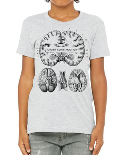 Brain Construction Youth Tee Shirt - Cognitive Surplus