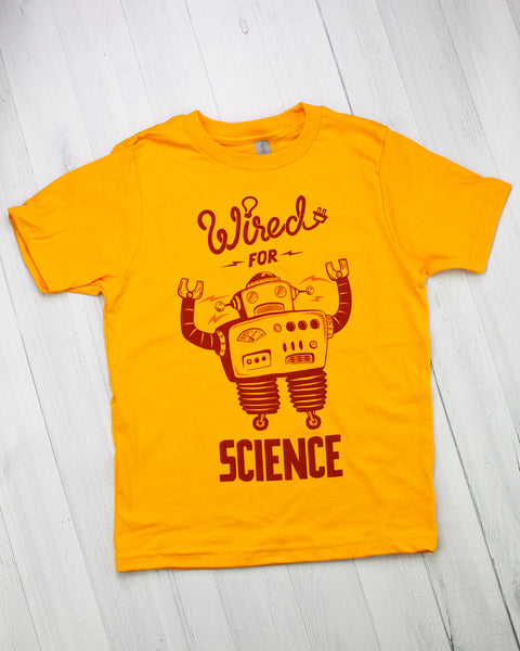 Wired for Science Youth Tee Shirt
