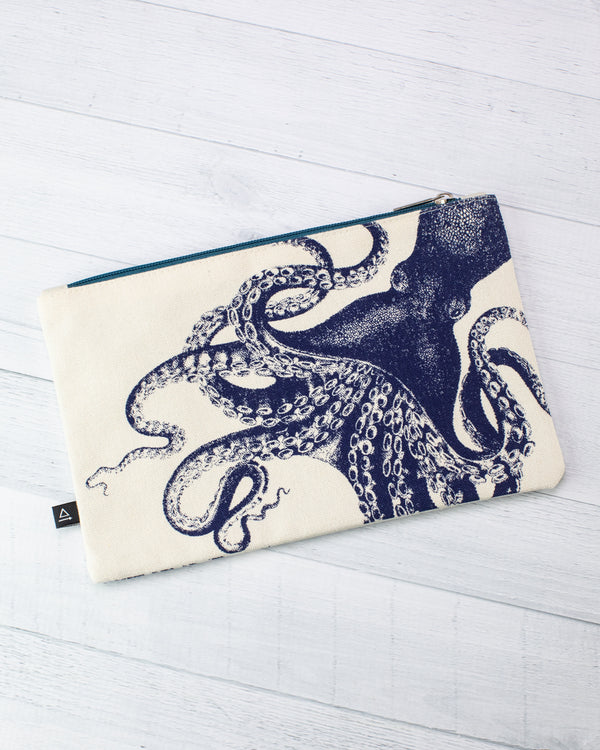 Octopus & Squid Zip Case