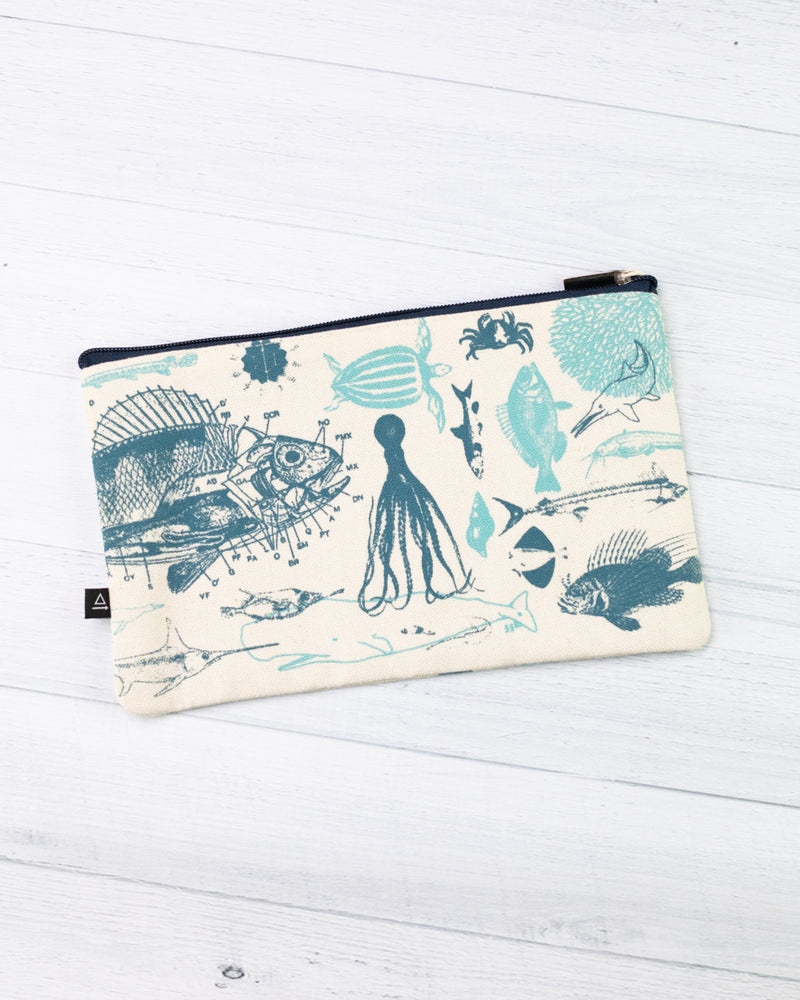 Marine Biology Zip Case