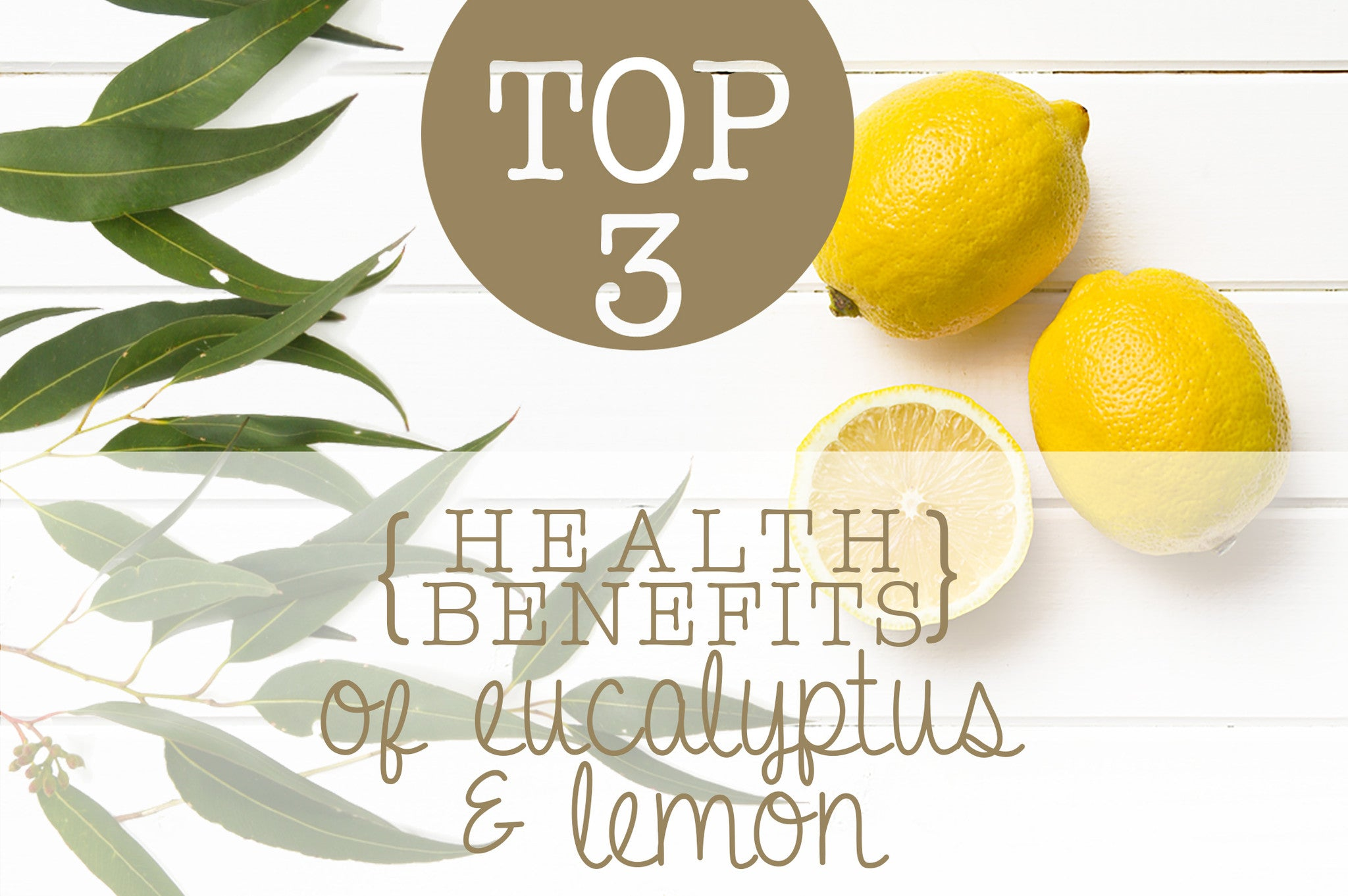 TOP 3 HEALTH BENEFITS OF EUCALYPTUS & LEMON