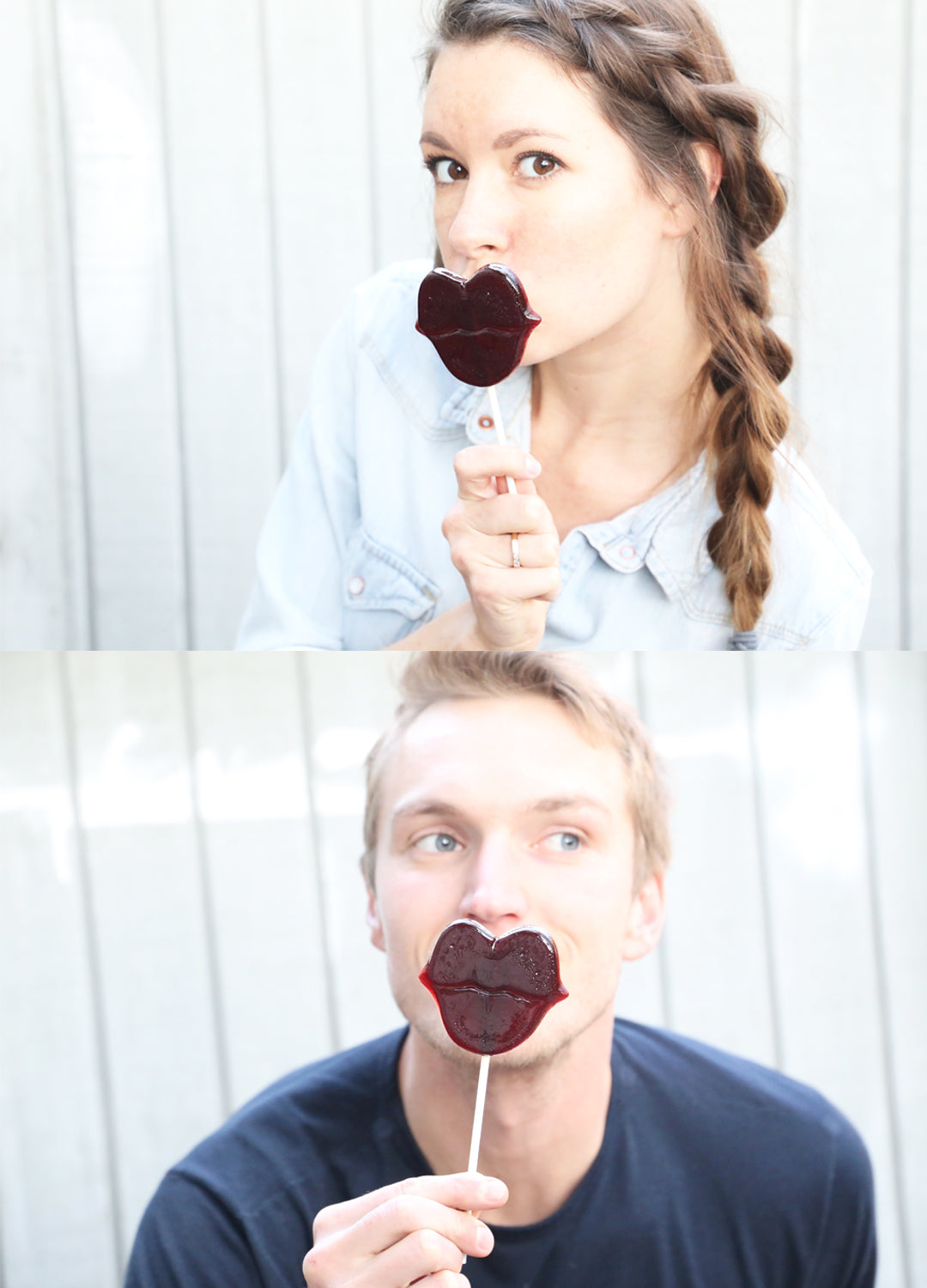 red wine lollipop suckers recipe for Valentine's Day
