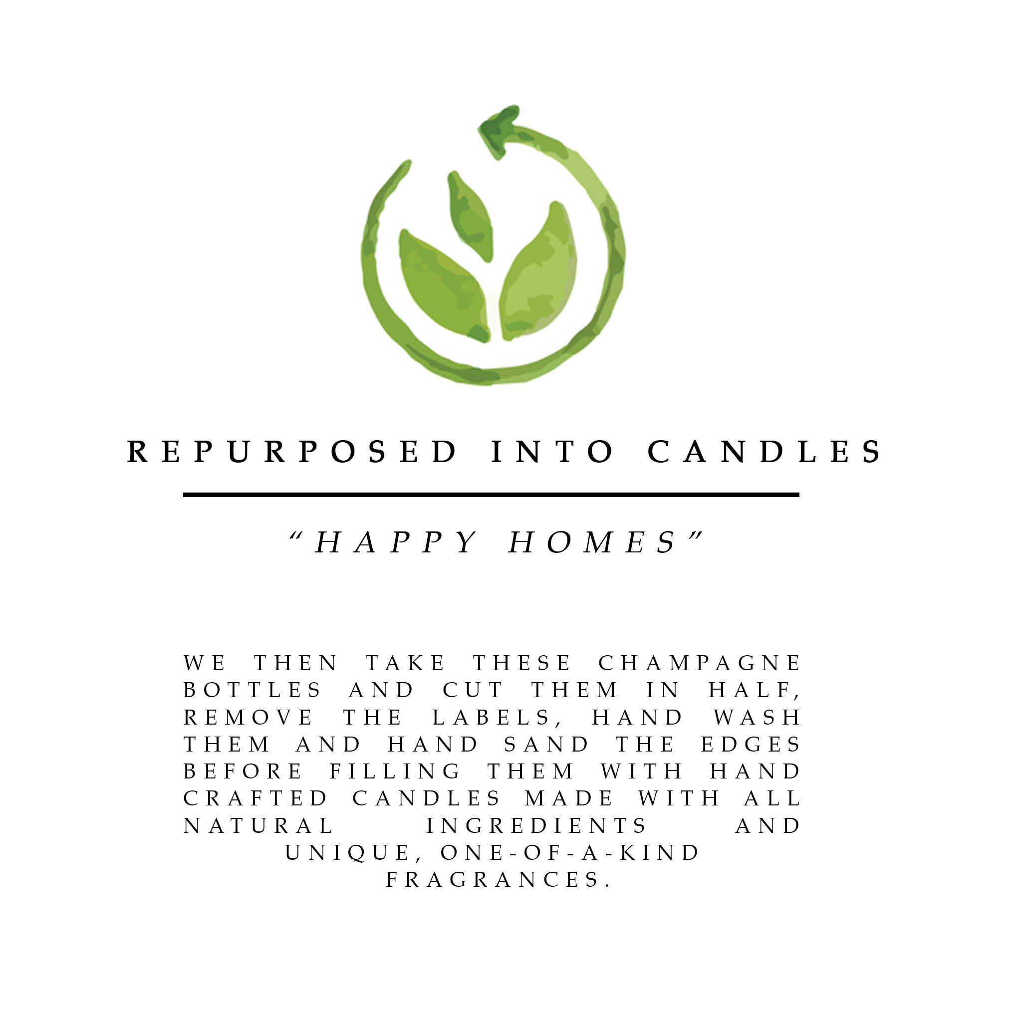 reduce reuse recycle eco friendly candles sustainable brand