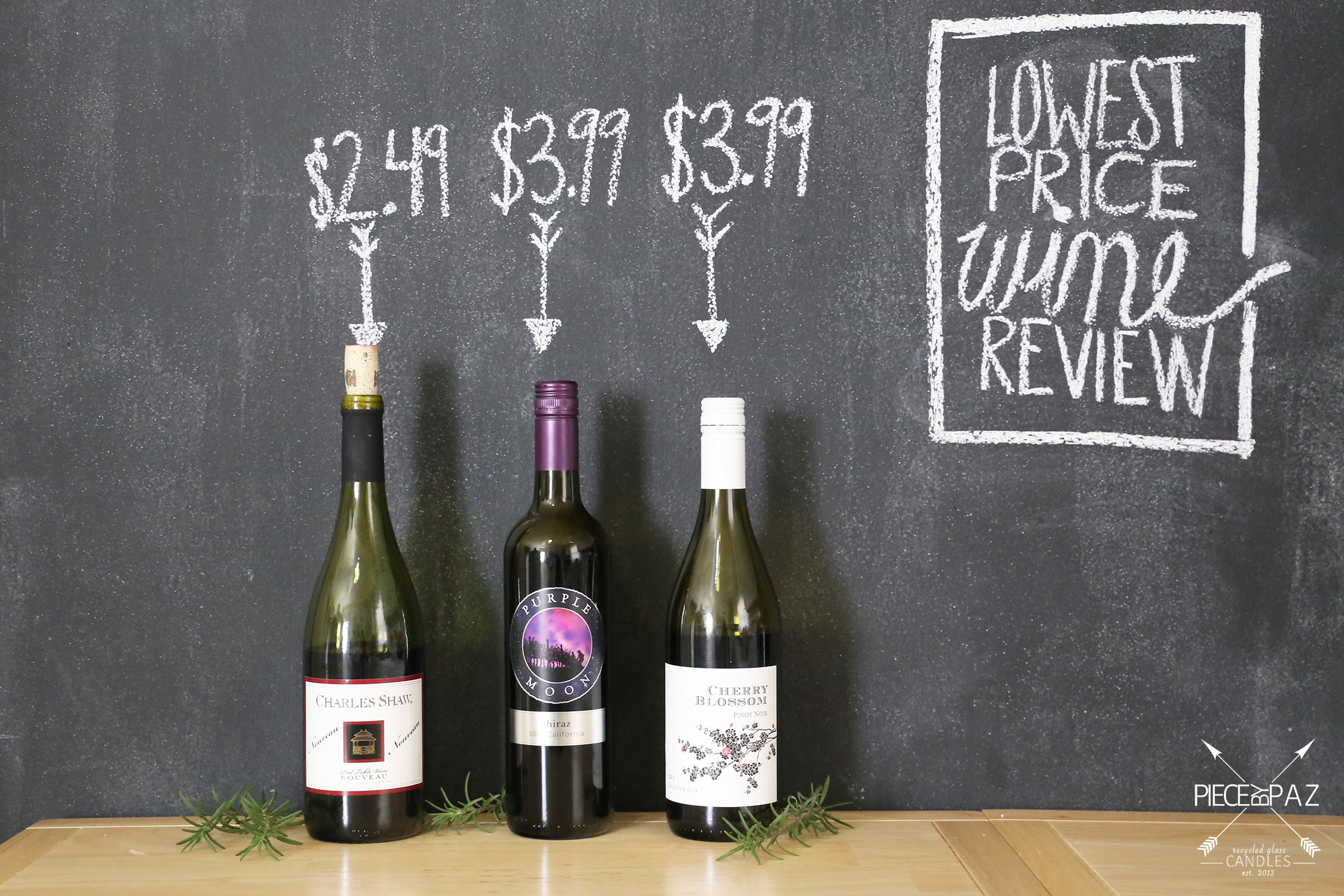 Trader Joe's 3 least expensive, cheapest red wines