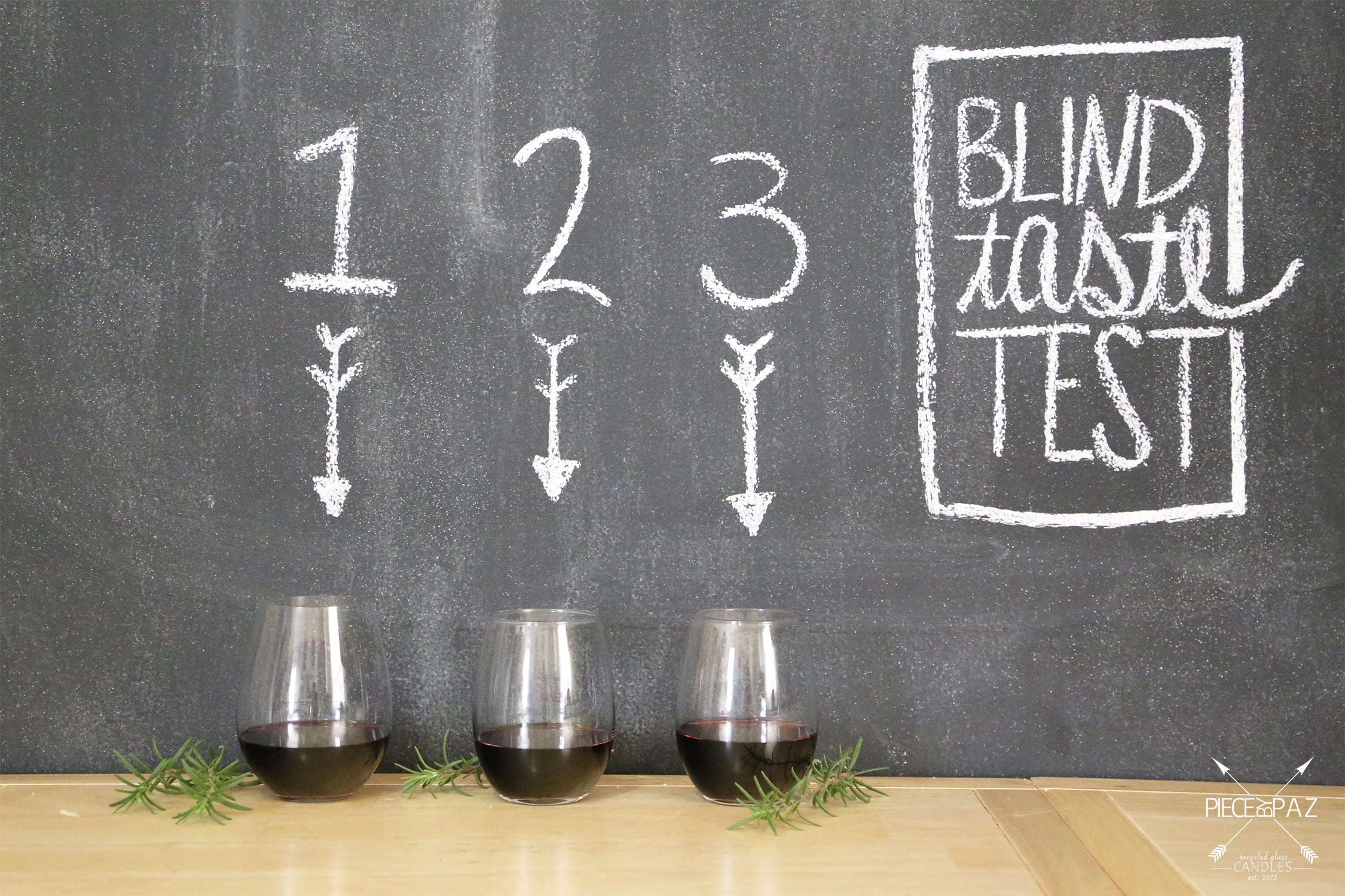 red wine blind taste test