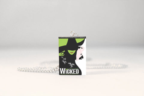 Wicked Miniature Book Necklace