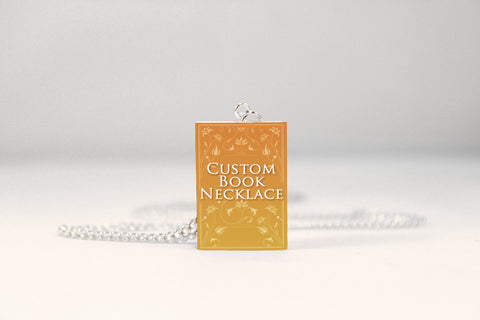 Custom Miniature Book Necklace