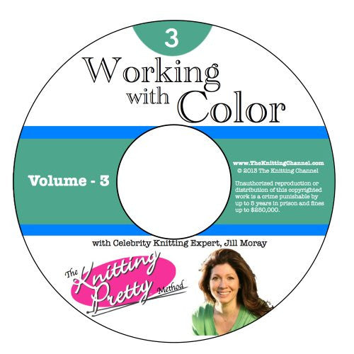Knitting Pretty DVD 3: Working with Color