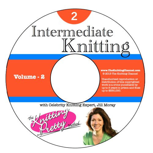 Knitting Pretty DVD 2: Intermediate Knitting