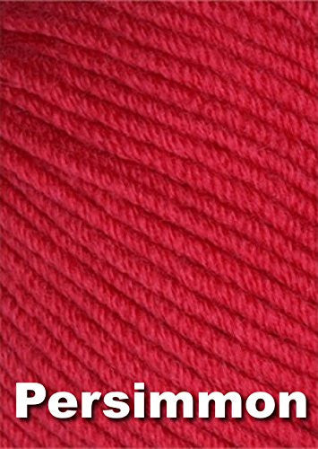 Karabella Aurora 8 Worsted Weight Extra Fine Merino Yarn - Persimmon