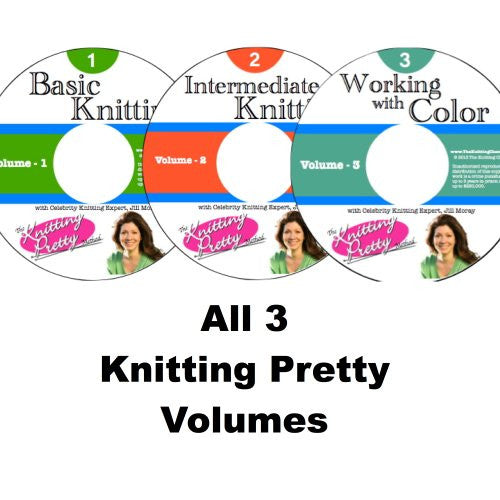 Knitting Pretty Series: Volumes 1, 2 & 3