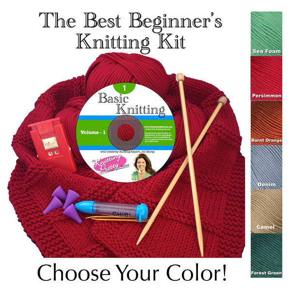 The Best Beginner's Knitting Kit