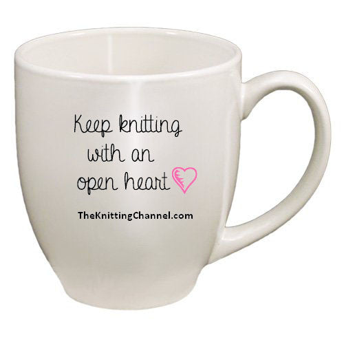 The Official Knitting Channel Bistro Mug