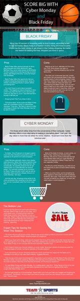 Cyber Monday vs Black Friday [infographic]