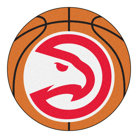 Atlanta Hawks Basketball Area Rug