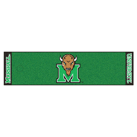 Marshall Thundering Herd Golf Putting Green Mat