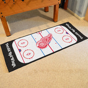 Detroit Red Wings Hockey Rink Runner Rug