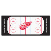 Detroit Red Wings Hockey Rink Runner Rug - Team Sports Gift