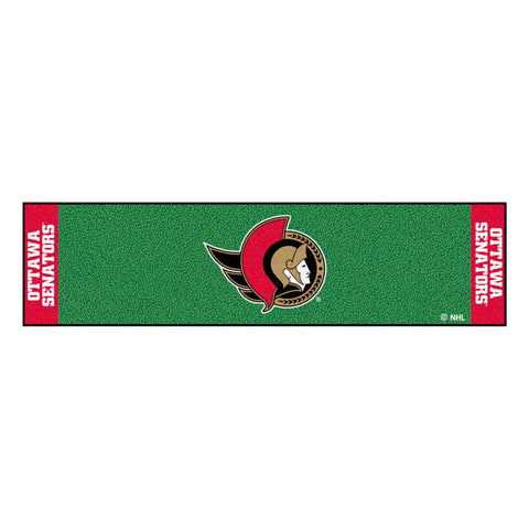 Ottawa Senators Golf Putting Green Mat