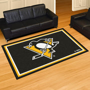 Pittsburgh Penguins Ultra Plush Area Rug 5x8