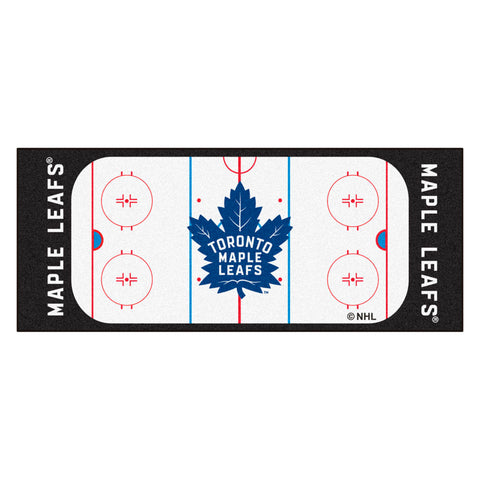 Toronto Maple Leafs Hockey Rink Runner Rug