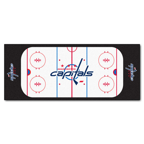 Washington Capitals Hockey Rink Runner Rug