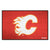 Calgary Flames Tufted 30 x18 Area Rug