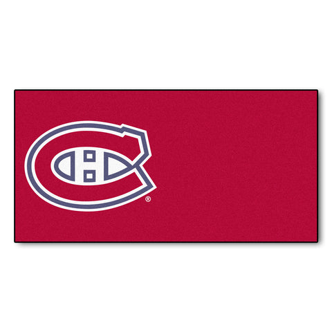Montreal Canadiens Red Team Proud Carpet Tiles