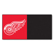 Detroit Red Wings Black/Red Team Proud Carpet Tiles - Team Sports Gift