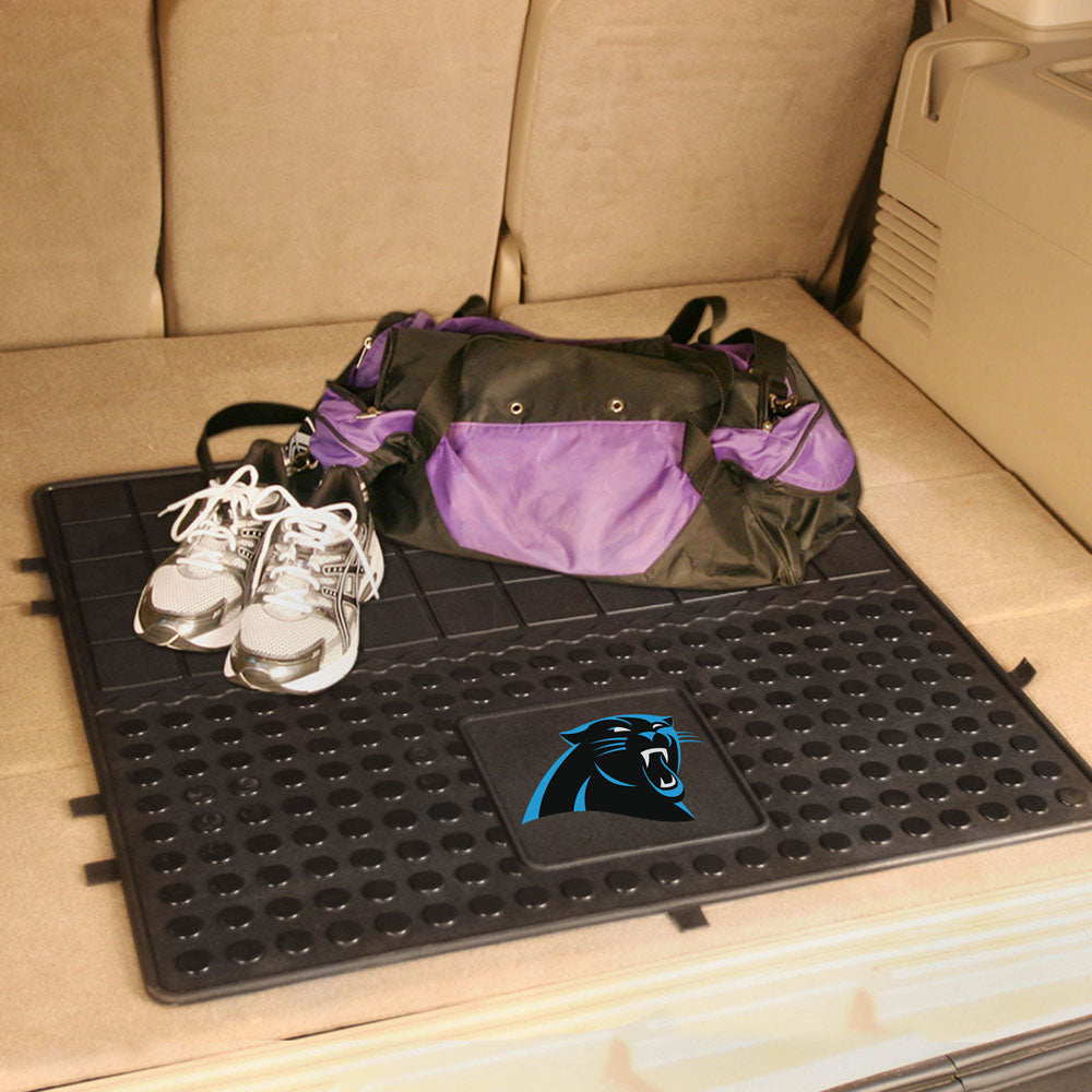 Carolina Panthers Heavy Duty Cargo Mat in the Trunk