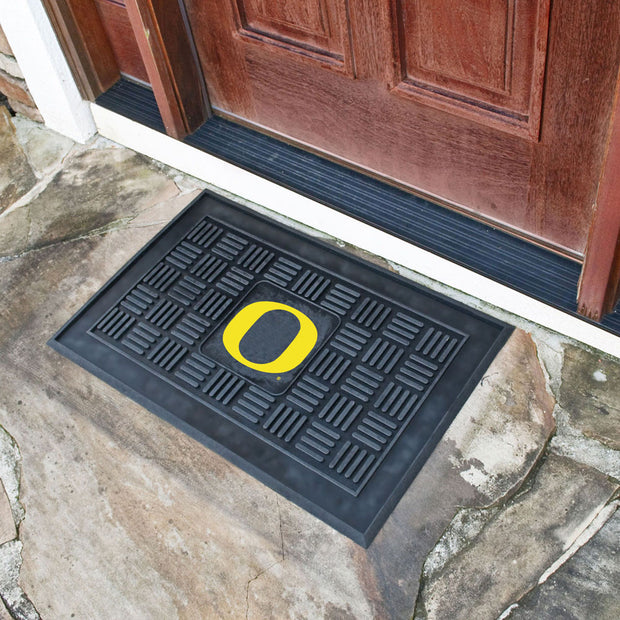 Oregon Ducks Welcome Door Mat at Entry