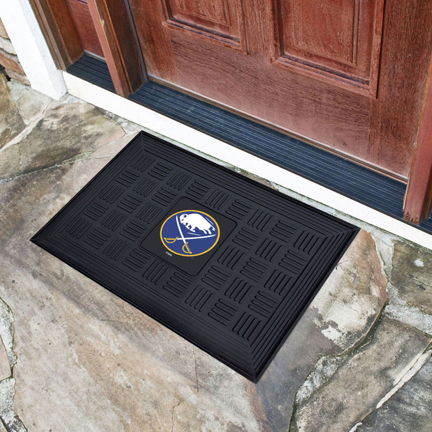 Buffalo Sabres Welcome Door Mat at Entry