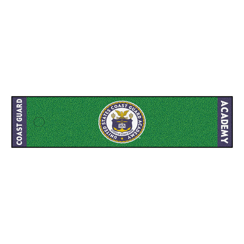Coast Guard Bears Golf Putting Green Mat