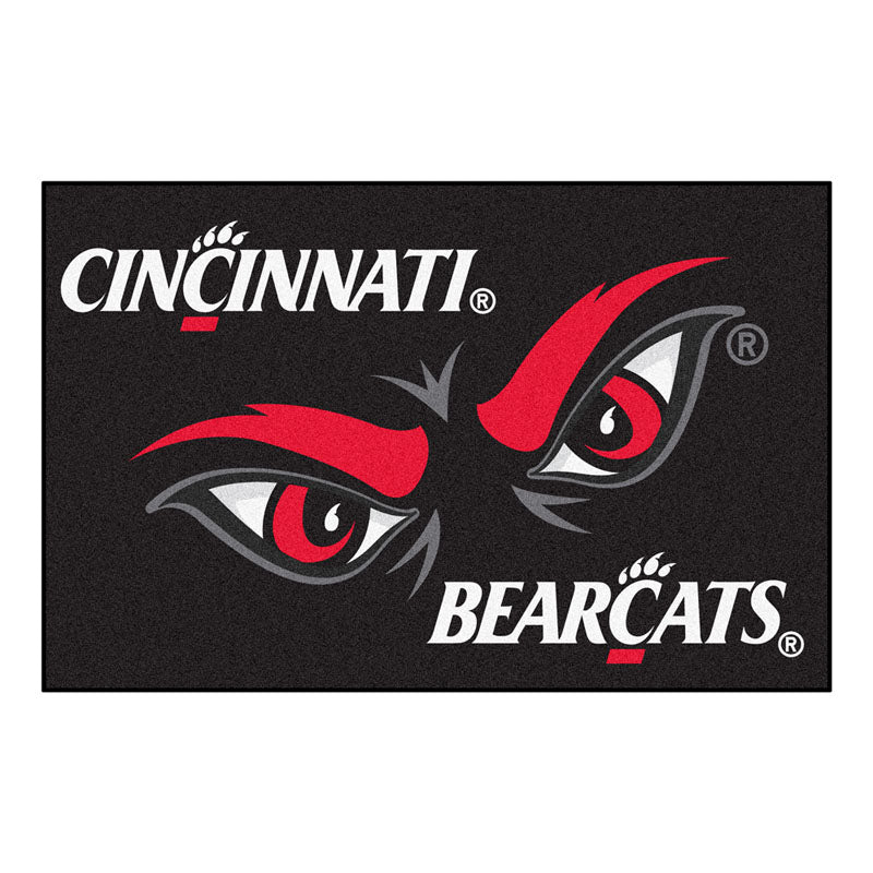 Cincinnati Bearcats Team Logo Accent Rug