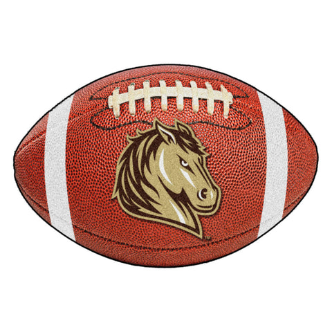 Southwest Minnesota State Mustangs Touchdown Football Area Rug