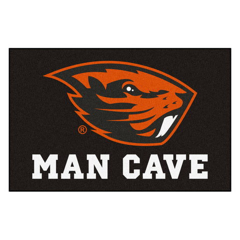 Oregon State Beavers Man Cave Area Rug